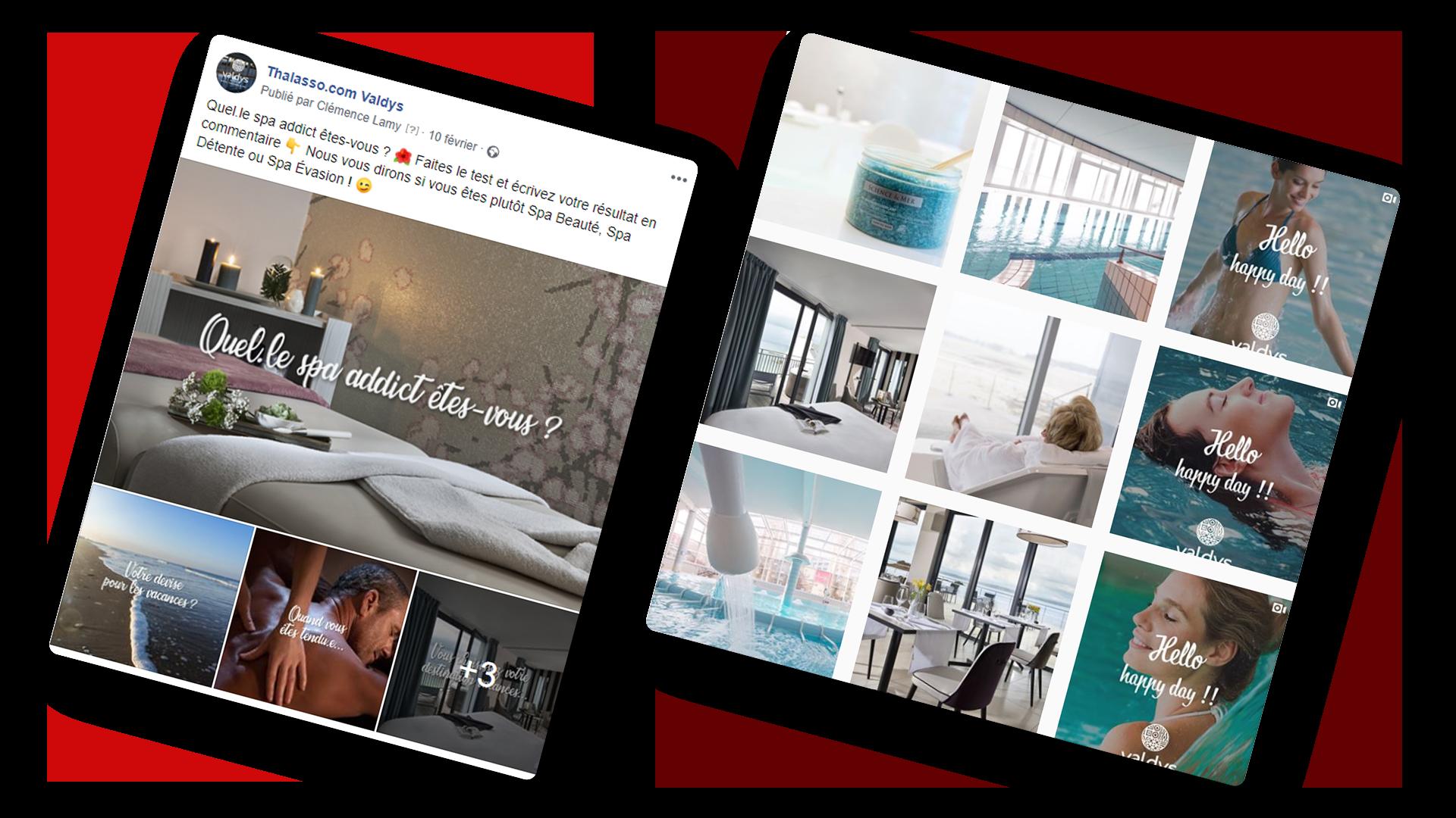Social Media Management Valdys Resort
